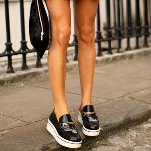 Stella McCartney Black Scarpa Loafers